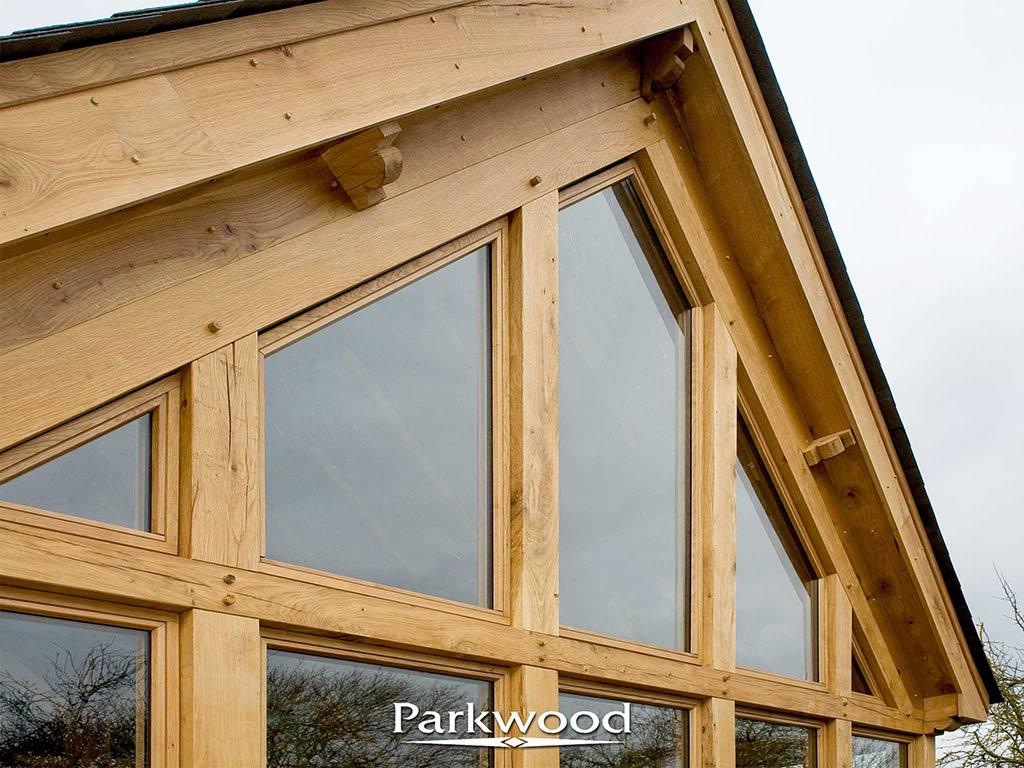Green Oak garden rooms by Parkwood