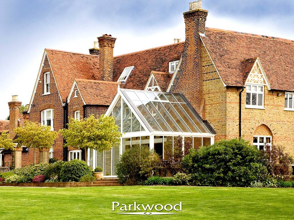 Contemporary timber conservatories by Parkwood