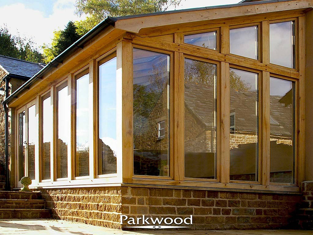 Green Oak garden rooms by Parkwood