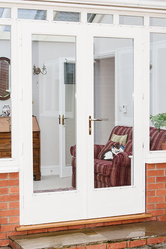 Wooden residential french doors by parkwood joinery for Inward opening french doors