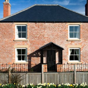 A Traditional, Symetrical Elevation Is Perfect For Sliding Sash Windows