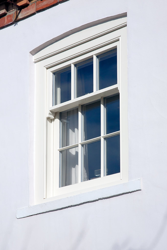 Three over six design sliding sash by Parkwood