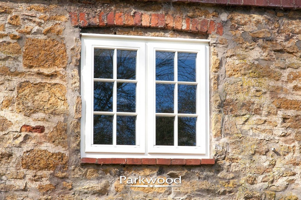 A Parkwood casement window with glazing bar detail