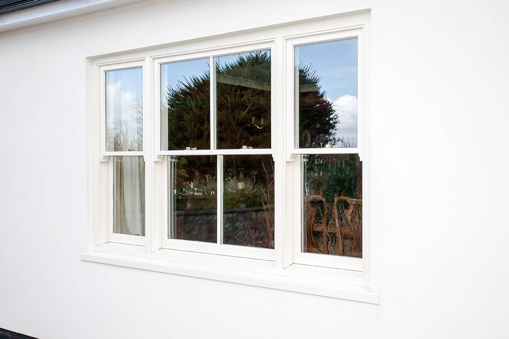 Triple configured sliding sash by Parkwood