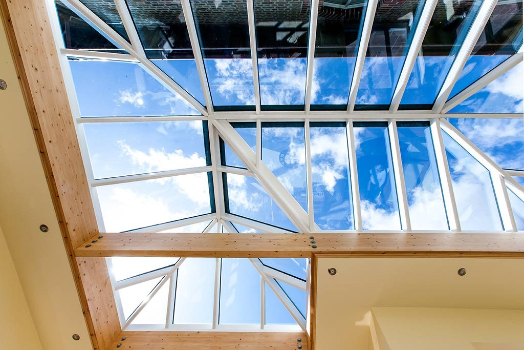 Glazed lantern roof by Parkwood