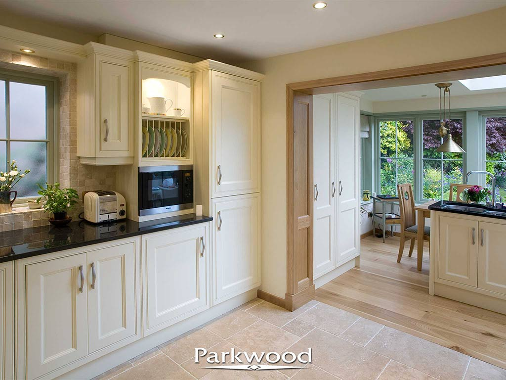 Very useful working spaces created by a Parkwood orangery