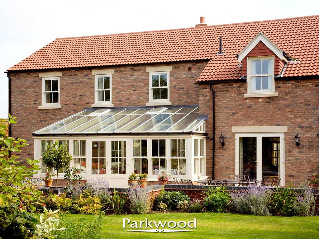 Timber conservatory by Parkwood