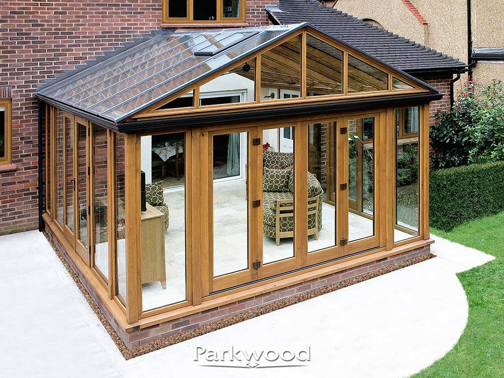 oak conservatory by Parkwood