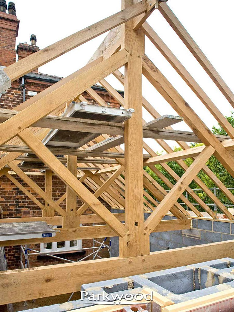 King Post Amp Queen Post Truss Roof Construction