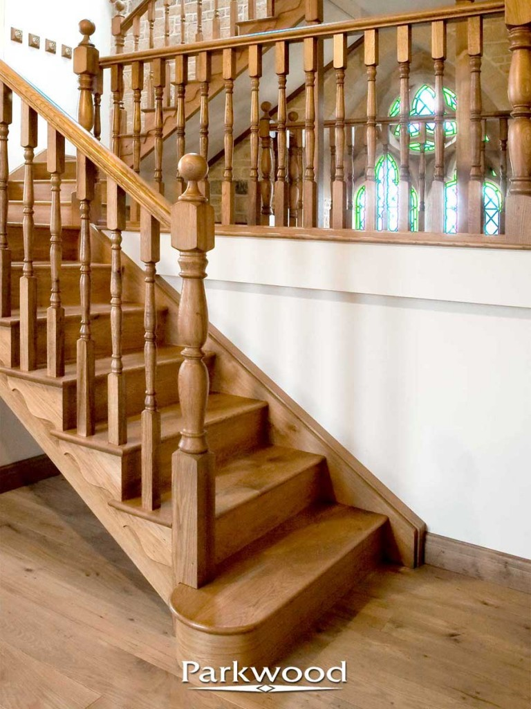 traditional staircases by Parkwood
