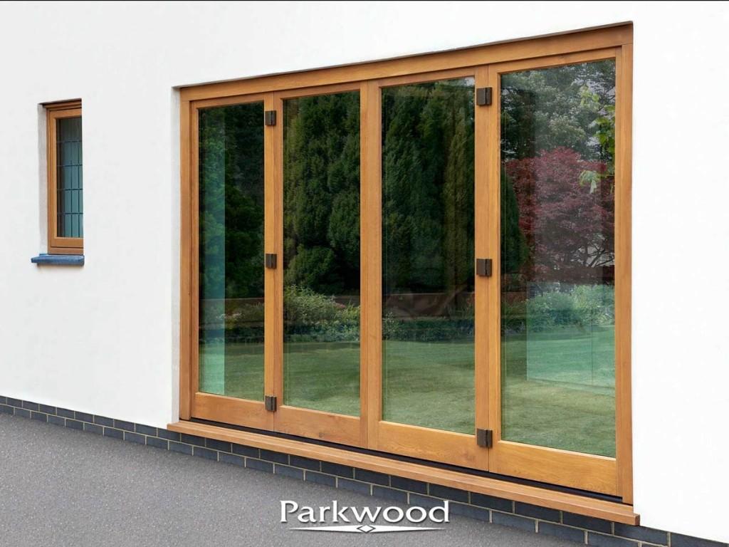 Bi Fold Timber Doors By Parkwood & Bespoke Bi-folding Timber Doors by Parkwood Joinery Ltd