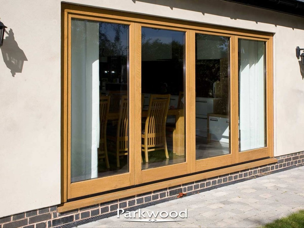 wooden residential french doors by parkwood joinery