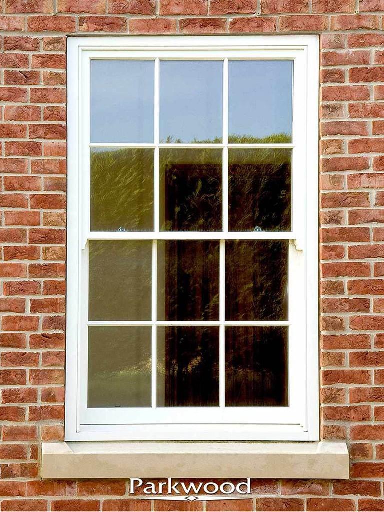 Elegant Sliding sash window by Parkwood