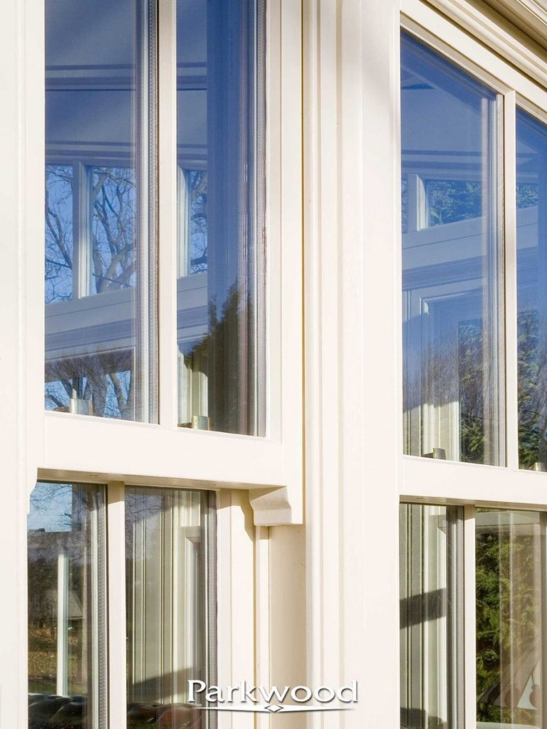 Sliding sash windows in a conservatory , by Parkwood